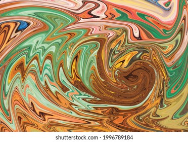 Abstract Pattern Liquid Alcohol Ink - Shutterstock ID 1996789184