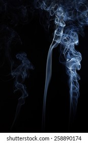 abstract photo of blue Smoke