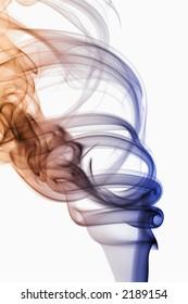 Abstract photo of smoke