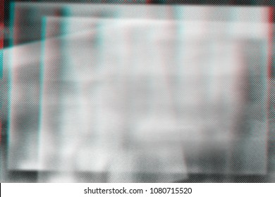 Abstract photocopy texture background, Double exposure, Glitch