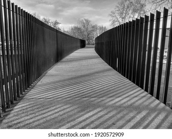 Abstract photography black and white