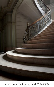 an abstract picture of a vintage stair