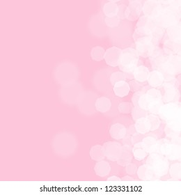 Abstract pink background for birthday card