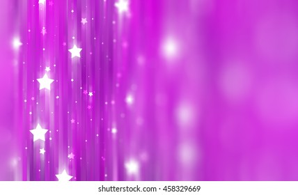 Abstract pink background with bokeh defocused lights.