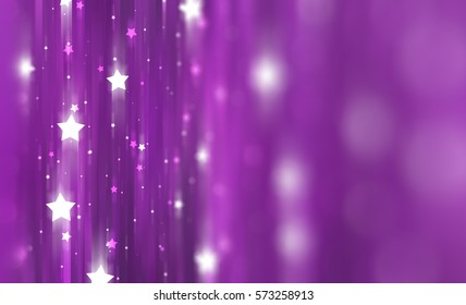 Abstract pink background with bokeh defocused lights. illustration beautiful.