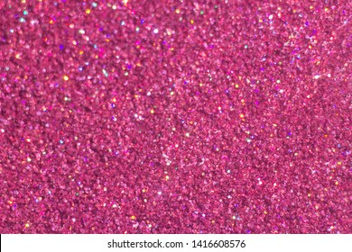 abstract Pink shiny glowing glitter background