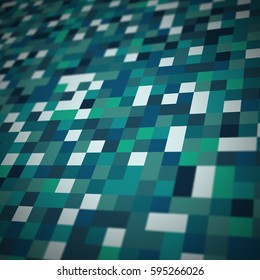 Abstract pixel art style background