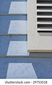 Abstract Plantation Shutters