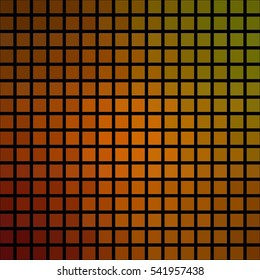 Abstract polygon matrix pixelated cubic tile background