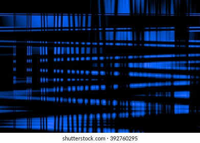 Abstract psychedelic blue background. Illustration. Can be used for posters.