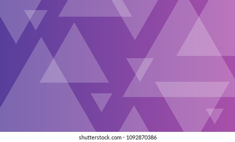 Abstract purple geometric background with triangles