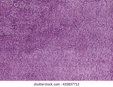 Abstract purple textile towel texture. Background and texture.