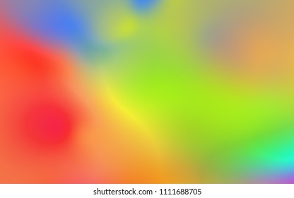 Abstract rainbow soft cloud background in pastel colorful gradient.