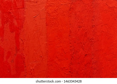 abstract real egg tempera painting with vermillion red color pigments, abstract background