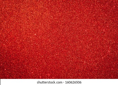 Abstract red Christmas glitter background