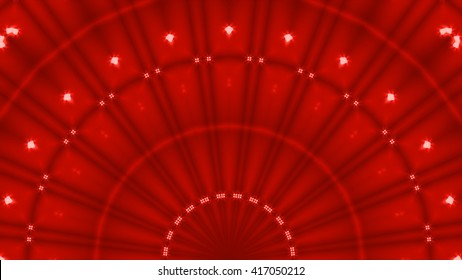 Abstract red curtains moulin rouge. Magickstock.