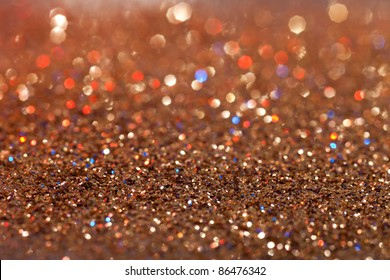 abstract red, gold and blue twinkled  background