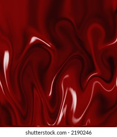 Abstract red liquid.