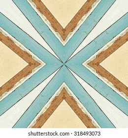 abstract  retro pattern of colorful abstract seamless geometric wood background for decorative wallpaper
