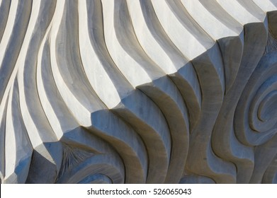 Abstract Sculpture Background Texture
