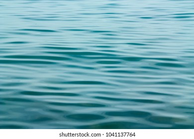 Abstract sea water in evening