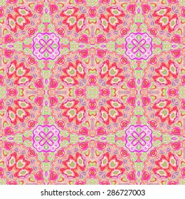 Abstract seamless colorful pattern for design and background
