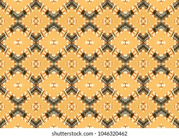 Abstract seamless decorative geometric pattern