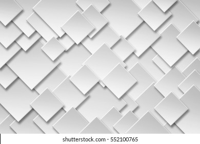 Abstract Seamless Paper square banner with drop shadows Background. Element design for background,backdrop and decoration element use.