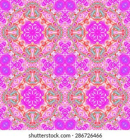 Abstract seamless purple pattern for design and background
