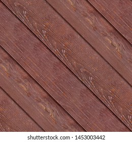 Abstract seamless texture for designers with lumber panel from red decks. Beaded of thus on surface. May using for house walls design or game development.