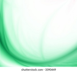Abstract Shades of Green