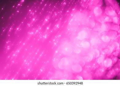 Abstract shimmering serenity round  bokeh or glitter lights background. Circles and defocused particles
