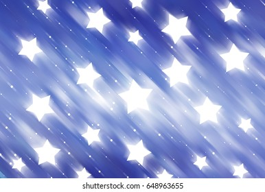 abstract shiny blue background. illustration digital.