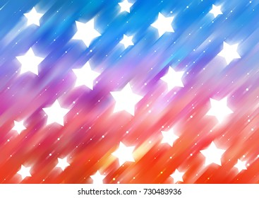 abstract shiny multicolored background. illustration digital.