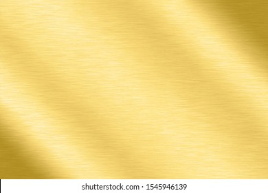 Abstract Shiny smooth line metal Gold color background Bright vintage Brass plate chrome element texture concept simple bronze foil panel hard backdrop design, golden light polished banner wallpaper. - Shutterstock ID 1545946139