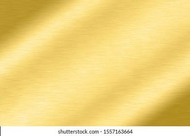 Abstrakte glatte Folie aus glattem Metall Goldener Hintergrund Helle Vintage Glasplatte Chrom Element-Struktur Konzept einfache Bronze-Blatt-Panel-harte Hintergrund-Design, hellpolierte Stahl-Banner-Tapete.