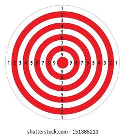 Abstract Shooting Target