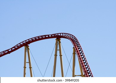 Abstract Shot of Roller-coaster