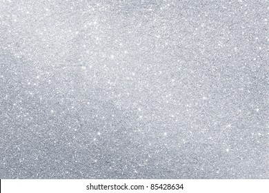 Abstract silver background with copy space