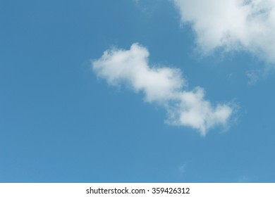 Abstract sky-blue background holiday love