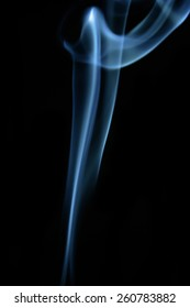 abstract smoke isolated