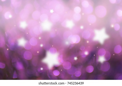 Abstract soft pink background with star