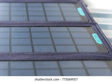 Abstract Solar Panel Home Usage Photovoltaic Eco-Friendly Green Energy Background