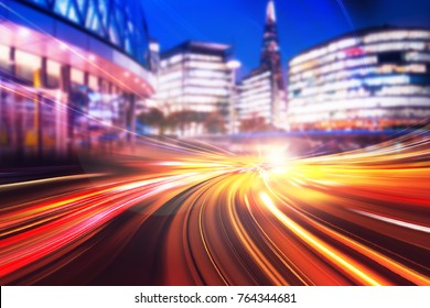 Abstract Speed Motion Blur