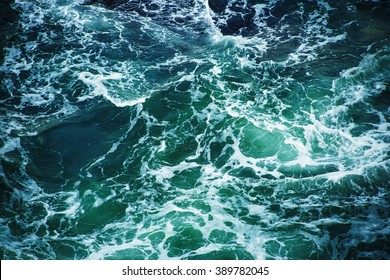 Abstract splash turquoise sea water for background