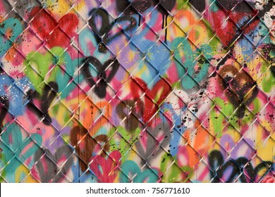 Abstract Spray Paint Texture Background