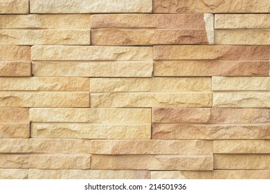 Abstract square brick wall background.