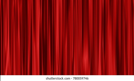abstract stage curtain