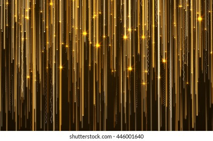 Abstract Star Light Streak Elegant  Background.
