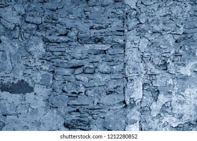 abstract stone texture of blue color for a background or for wallpaper